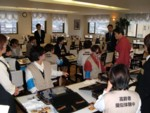 実技演習「ユニバーサルサービス実践演習」(高齢者)1