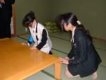 実技演習「ユニバーサルサービス実践演習」(高齢者)3