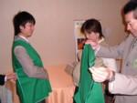 実技演習「ユニバーサルサービス実践演習」(妊婦さん)2